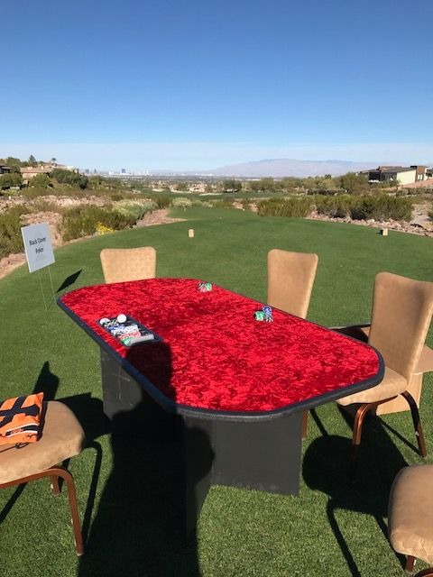 Casino Tables for Outside