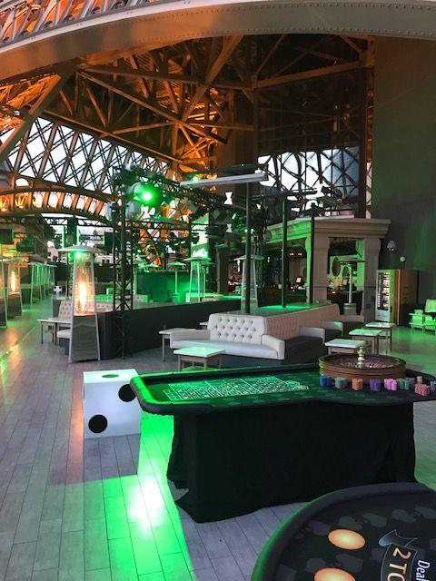 Diablo Casino Parties in Lounges