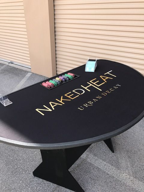 Custom Made Casino Tables by Diablo Casino Parties