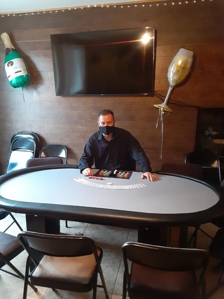Diablo  Casino Parties Custom Tables